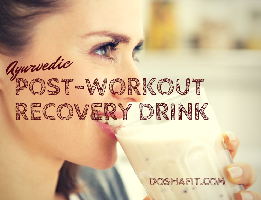 Ayurvedic Post-Workout Recovery Drink